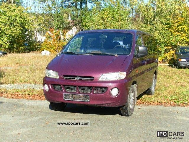 2000 Hyundai  H-1 Starex 2.4i Van / Minibus Used vehicle photo