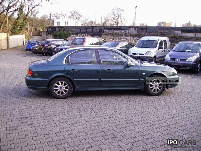 2002 Hyundai  Sonata 2.0 16V GLS LPG Limousine Used vehicle photo