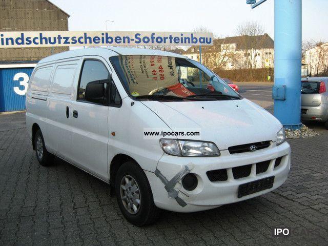 1999 Hyundai  H * 1 2.5 diesel emissions sticker (3) * Yellow Van / Minibus Used vehicle photo