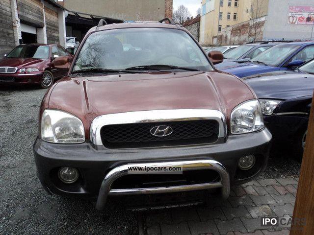 2002 Hyundai Santa Fe 2 4 2wd Gls Car Photo And Specs