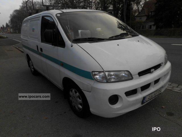 2000 Hyundai  H 1/VAN 3K 2.5D + power steering Van / Minibus Used vehicle photo
