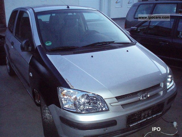 2004 hyundai getz 1 3 gls car photo and specs. Black Bedroom Furniture Sets. Home Design Ideas