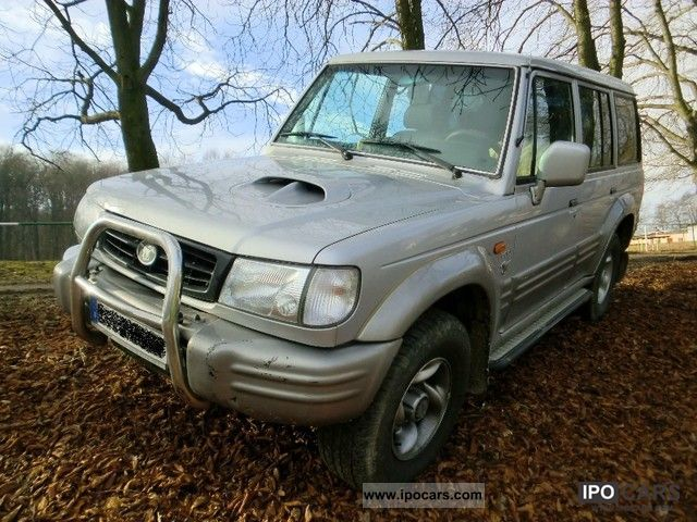 2001 Hyundai  Exceed intercooled turbo air AHZV Off-road Vehicle/Pickup Truck Used vehicle photo