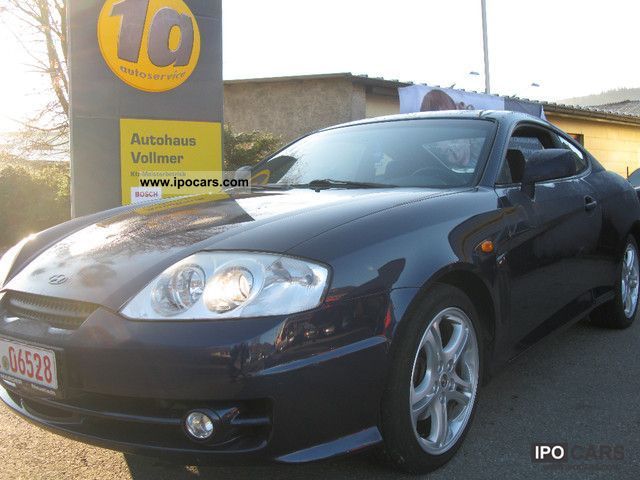 2003 hyundai coupe 2 0 gls car photo and specs. Black Bedroom Furniture Sets. Home Design Ideas