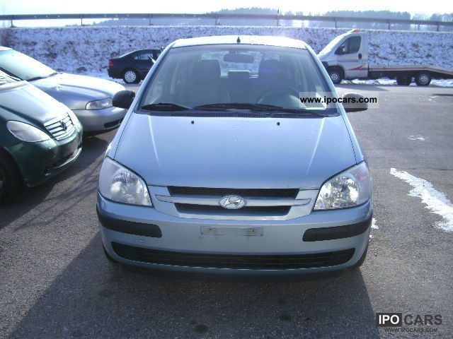 2004 hyundai getz 1 5 car photo and specs. Black Bedroom Furniture Sets. Home Design Ideas