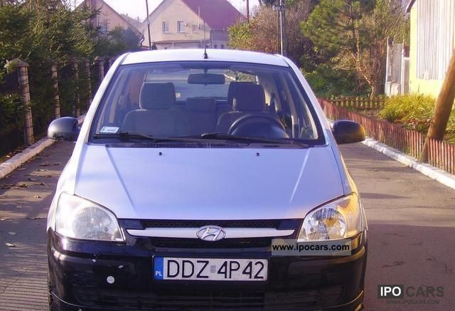 2004 Hyundai  Getz 1.4 LPG Small Car Used vehicle photo