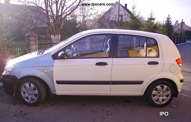 2004 hyundai getz 1 4 lpg car photo and specs. Black Bedroom Furniture Sets. Home Design Ideas
