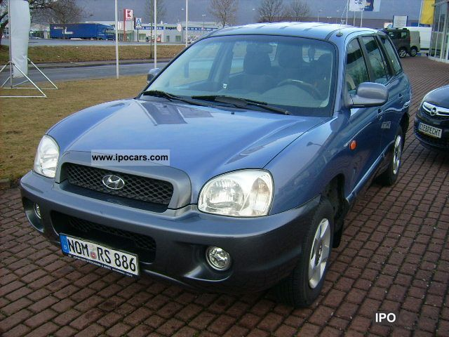 2001 Hyundai  Santa Fe 2.4 first HAND / CHEAP / APC Off-road Vehicle/Pickup Truck Used vehicle photo