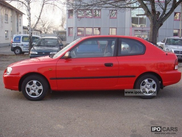 2002 Hyundai Accent 1.3i L TUV to 02/2014 - Car Photo and Specs