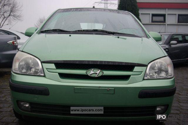 2002 Hyundai  Getz 1.6 GLS + Edition Small Car Used vehicle photo