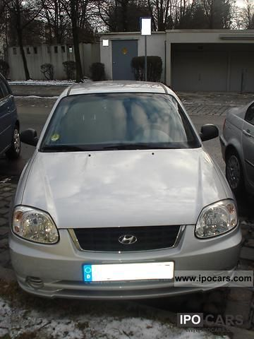 2005 Hyundai  Accent CRDi Coupe Limousine Used vehicle photo