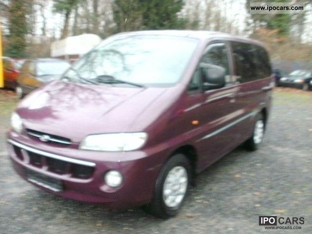 1999 Hyundai  H-1 RED DIESEL TD STAREX Van / Minibus Used vehicle photo