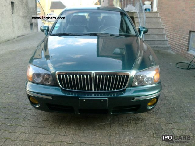 2002 Hyundai  XG 30 3.0 V6 Decada * Vollaustattung * 1.HAND Limousine Used vehicle photo