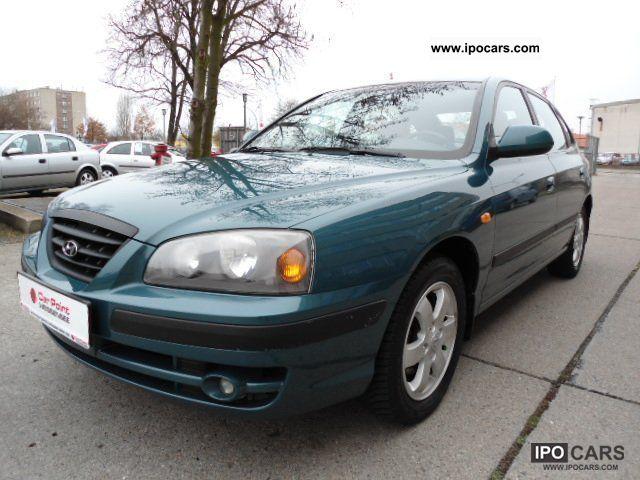 2004 Hyundai Elantra 2.0 GLS * 1.VORB. + LEATHER + KLIMAA.
