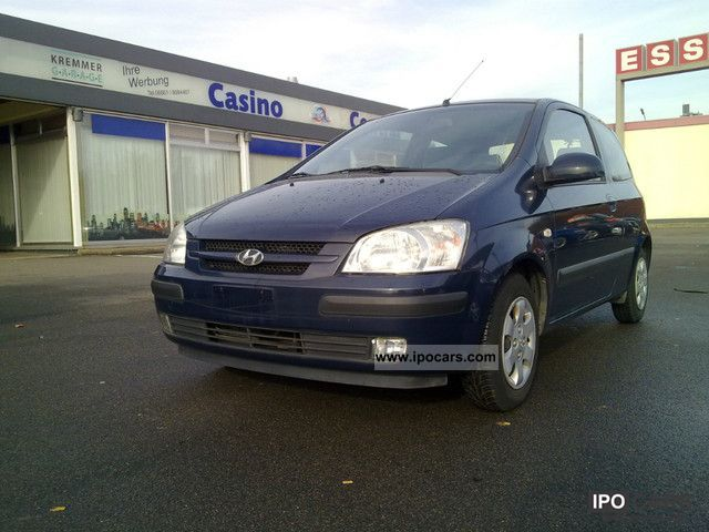 2002 Hyundai  Getz Small Car Used vehicle photo