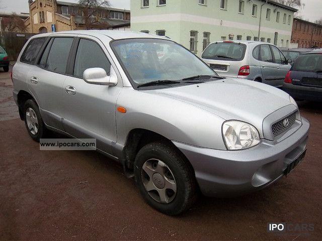 2000 Hyundai Santa Fe Hu04 13 Tuv Euro3 D4norm Car Photo And Specs