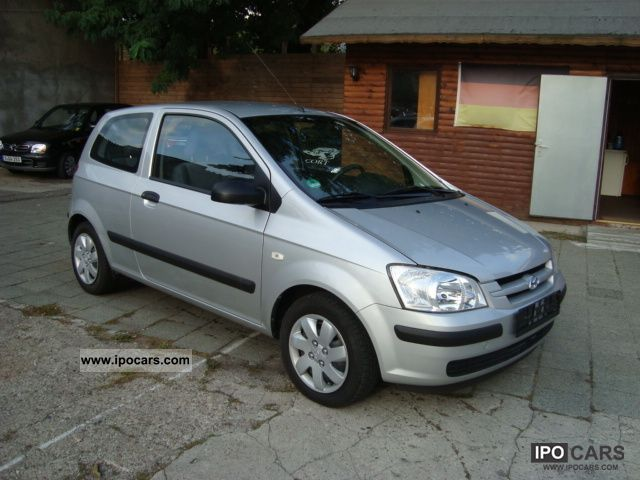 2005 hyundai getz 1 3 car photo and specs. Black Bedroom Furniture Sets. Home Design Ideas