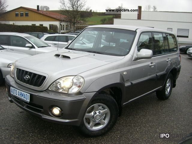 2002 hyundai terracan 2 9 crdi 4wd car photo and specs. Black Bedroom Furniture Sets. Home Design Ideas