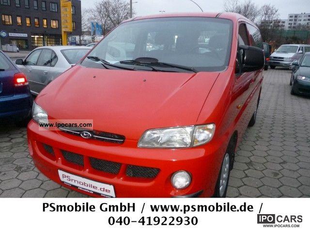 1999 Hyundai  H-1 Starex 2.4i climate / 6 Seat / M + S / 2x elGSD Van / Minibus Used vehicle photo