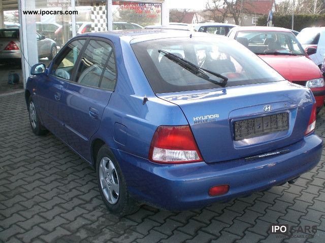2002 Hyundai Accent 1 3i Gls Automatic Climate Car Photo