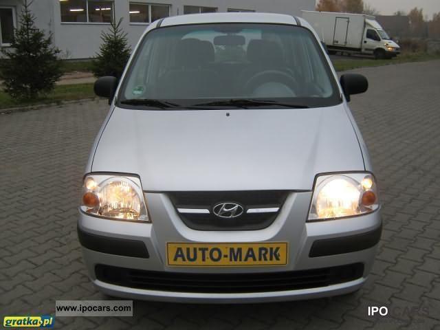 2006 Hyundai Atos Prime AIRBAG KSIĄŻKA_SERWIS WSPOMAGANIE ...