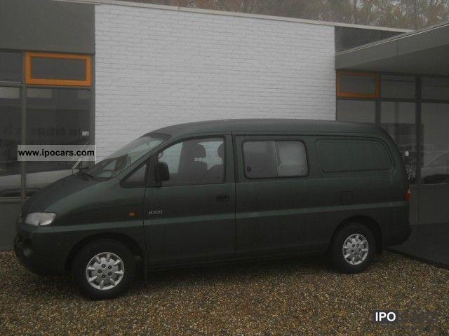 2000 Hyundai  H 200 2.5 TD Double Cab truck zulassing Van / Minibus Used vehicle photo