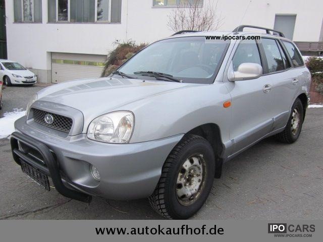 2001 Hyundai  Santa Fe 2.4 4WD GLS Off-road Vehicle/Pickup Truck Used vehicle (business photo