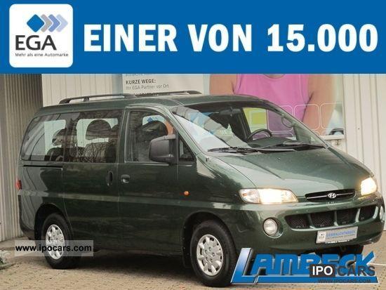 2000 Hyundai  H1 STAREX 2.4 7 SEATER. Van / Minibus Used vehicle photo