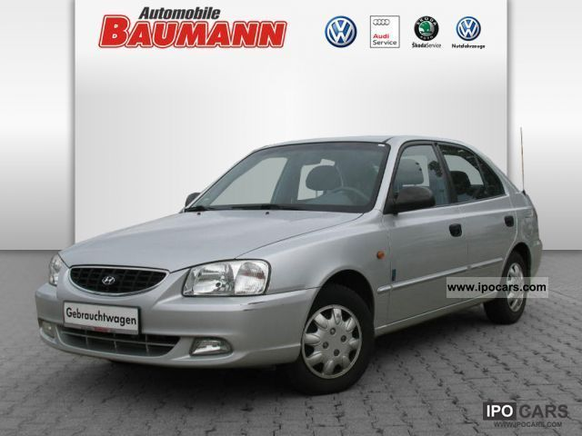 2002 Hyundai  Accent 1.5 Woldcup AIR Limousine Used vehicle photo
