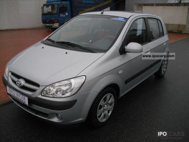 2006 Hyundai  Getz 1.4 GLS air / TÜV / AU new / warranty Small Car Used vehicle photo