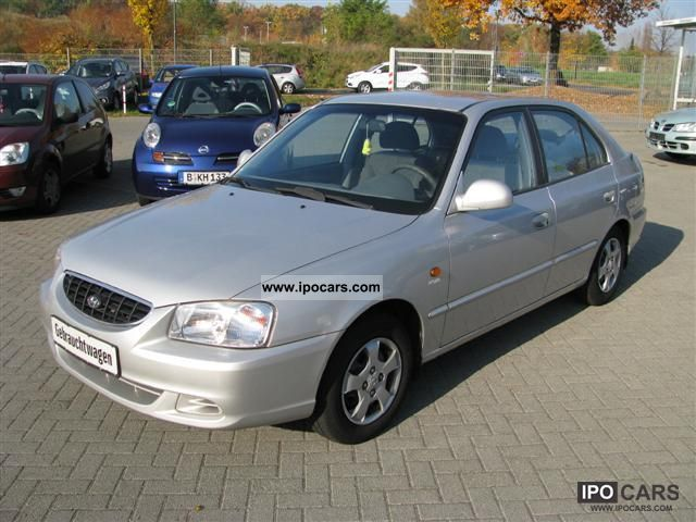 2002 Hyundai Accent 1 5 Gls Car Photo And Specs