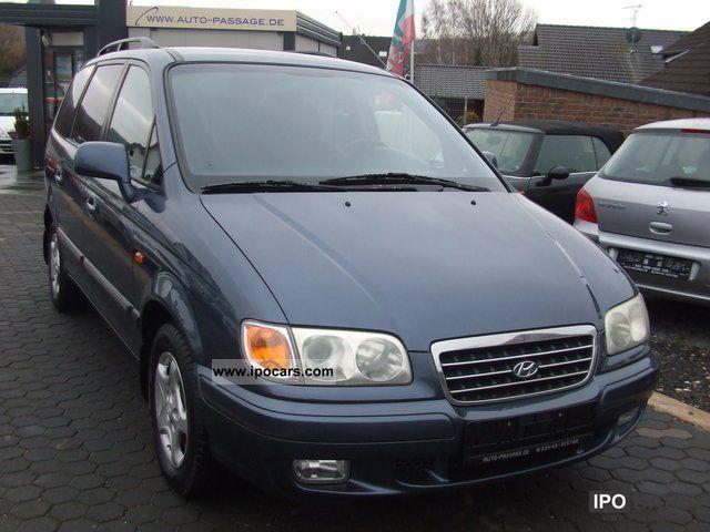 2002 Hyundai  Trajet 2.7 V6 GLS * Climate * AHK * 7 seats * Van / Minibus Used vehicle photo