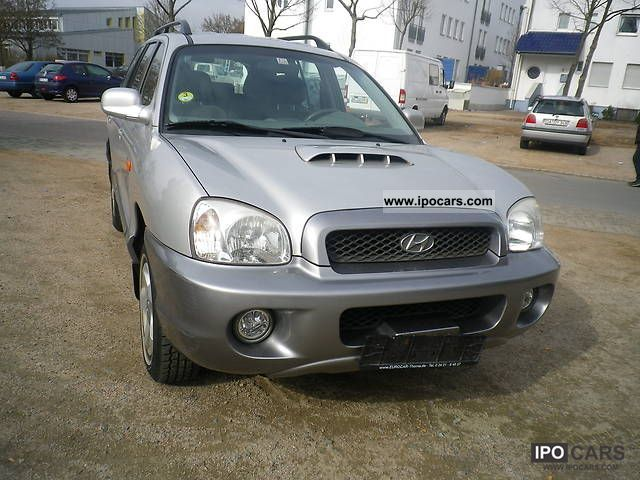 2003 Hyundai  Santa Fe 2.0 CRDi GLS, 1.Hand, air TOP OFFER Off-road Vehicle/Pickup Truck Used vehicle photo
