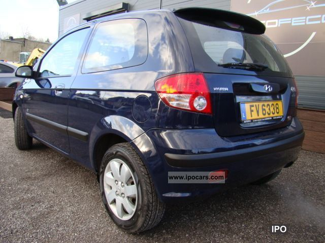 2005 hyundai getz 1 5 crdi 82 pack clim car photo and specs. Black Bedroom Furniture Sets. Home Design Ideas