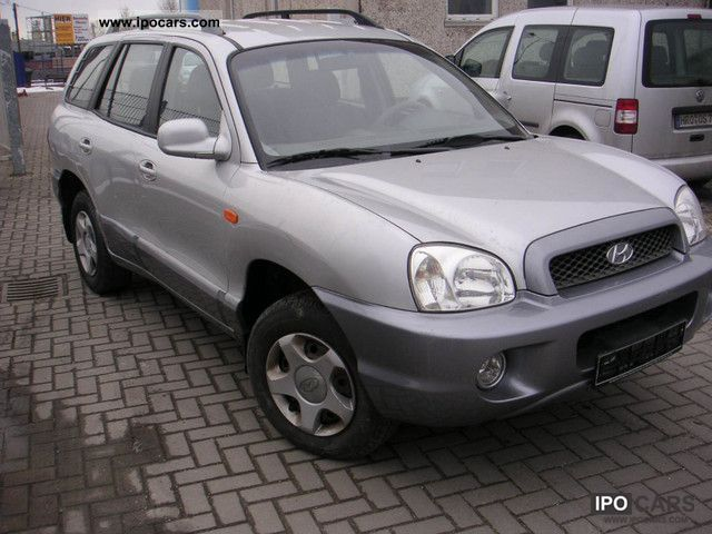 2004 Hyundai  Santa Fe 2.4 2WD Off-road Vehicle/Pickup Truck Used vehicle photo