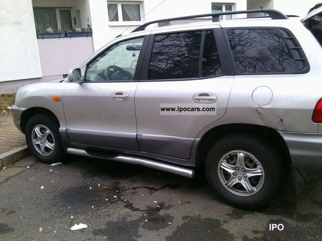 2002 Hyundai  Santa Fe Off-road Vehicle/Pickup Truck Used vehicle photo