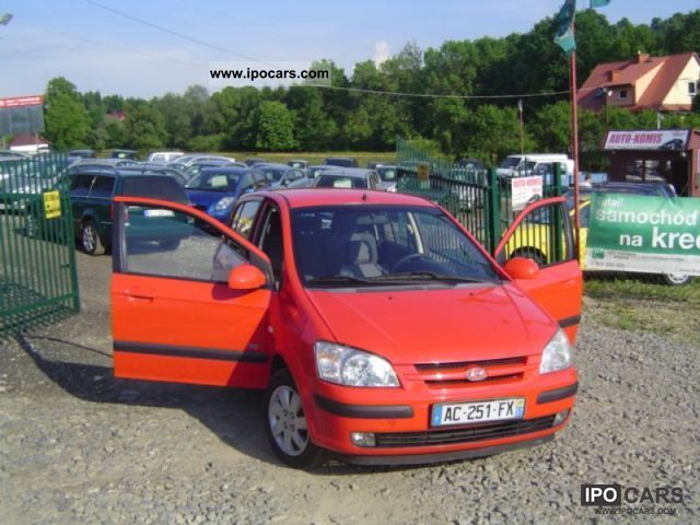 2005 Hyundai  Getz 1.5 CRDI - OPŁACONY! ! - Igla Small Car Used vehicle photo