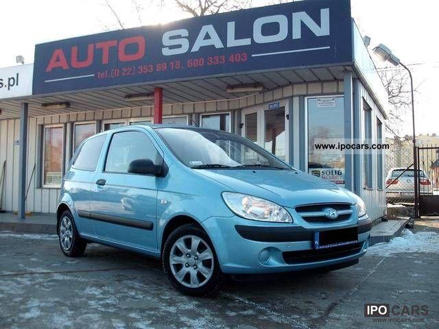 2008 Hyundai  SALON Getz * PL - SERWIS ASO - 1WŁ. * Small Car Used vehicle photo