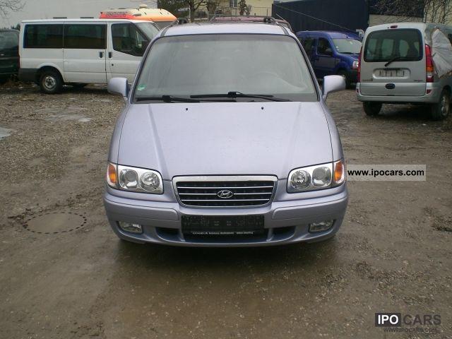 2002 Hyundai  Trajet 2.7 V6 GLS Comfort Van / Minibus Used vehicle photo