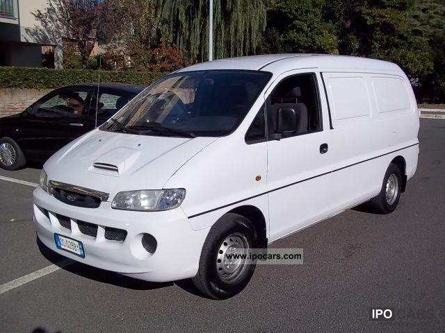 2002 Hyundai H 1 Van 2 5 Tdi Pc 3 Posti Air Car Photo