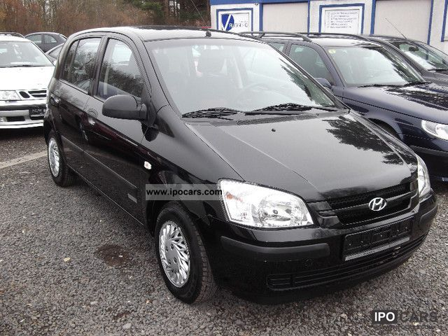 2006 hyundai getz 1 3 gls car photo and specs. Black Bedroom Furniture Sets. Home Design Ideas