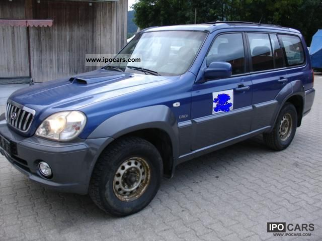2003 Hyundai  Terracan 2.9 CRDi Automatic air conditioning Off-road Vehicle/Pickup Truck Used vehicle photo