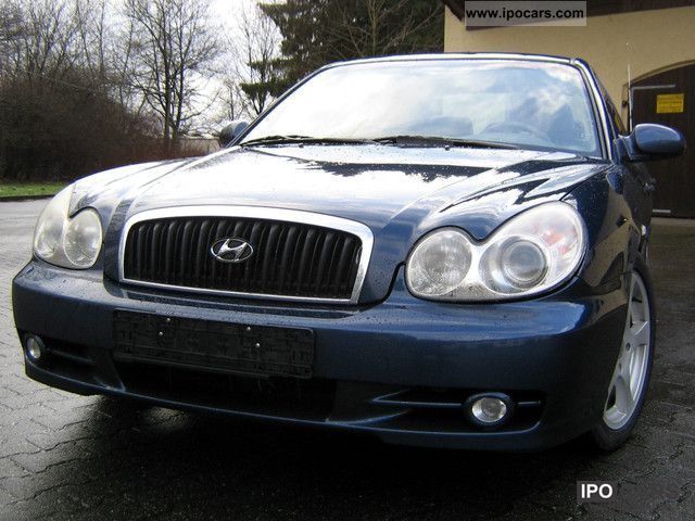Hyundai  Sonata 2.0i / LPG gas conditioning / climate incl / warranty 2001 Liquefied Petroleum Gas Cars (LPG, GPL, propane) photo