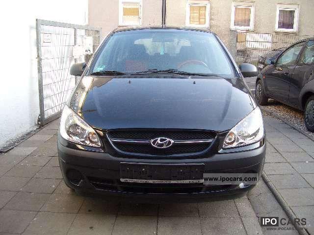 2008 Hyundai  Getz 1.1, power steering, central locking, el.Fenster Small Car Used vehicle photo