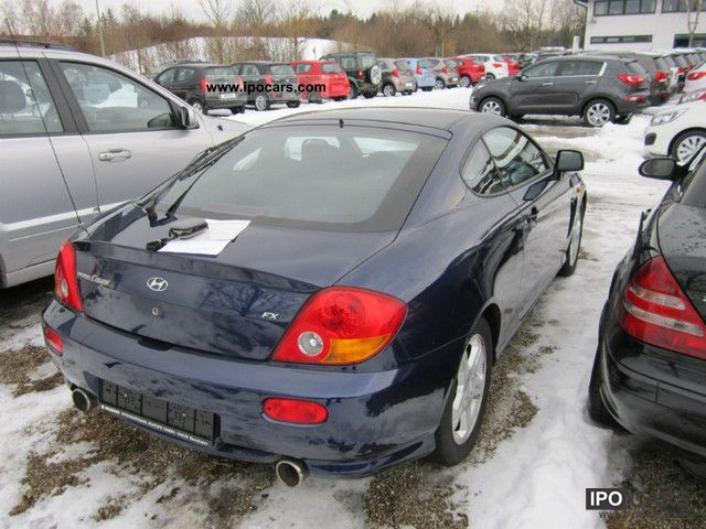 2002 hyundai coupe 2 0 gls car photo and specs. Black Bedroom Furniture Sets. Home Design Ideas