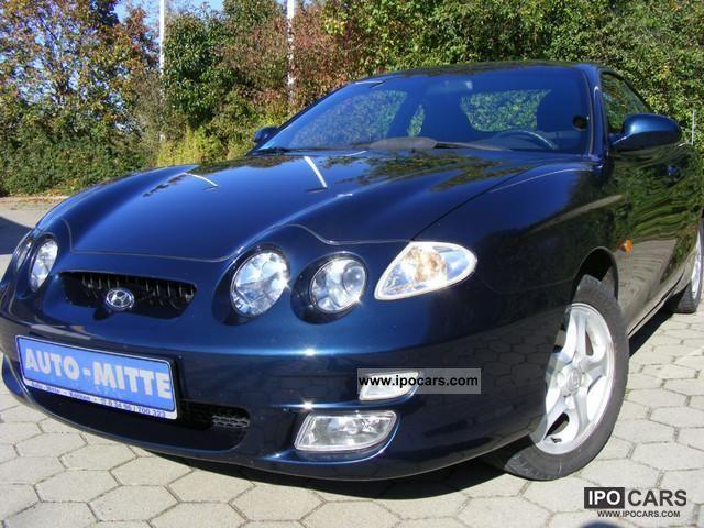 2002 Hyundai  Coupe 1.6 / Air Sports car/Coupe Used vehicle photo