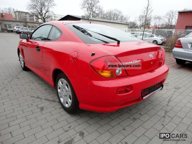 2002 hyundai coupe 1 6 new model car photo and specs ipocars com