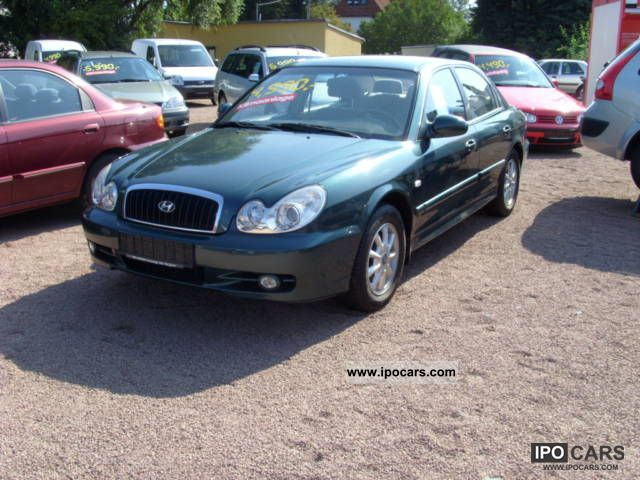 2002 hyundai sonata 2 0 16v car photo and specs ipocars com