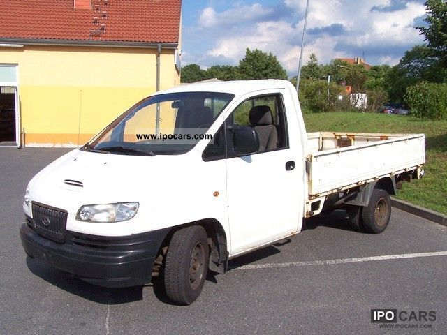 2001 Hyundai  H 200 flatbed pickup inter-cool 2.5 turbo diesel Off-road Vehicle/Pickup Truck Used vehicle photo