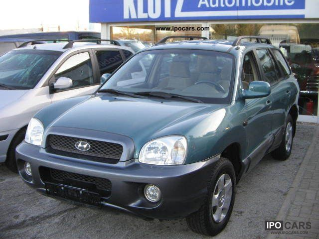 2001 Hyundai  Santa Fe 2.4 Climate system Off-road Vehicle/Pickup Truck Used vehicle photo